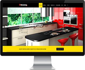 mutfak tezgahı web site tasarımı
